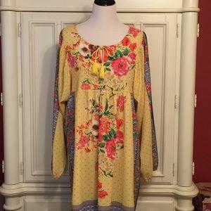 Umgee Peasant-Style Dress